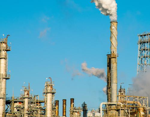 Stock Photo of Refinery