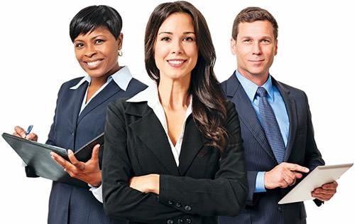 Trio of Professionals