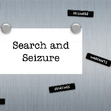 Search and Seizure Poster