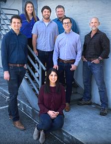 KXAN's Catalyst team—Josh Hinkle,David Barer,Arezow Doost,Chris     Nelson,Eric Henrikson,Robert Sims,andRachel Garza
