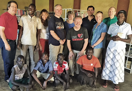 Attorneys Mark Cotham, Harvey Brown, Kevin Dubose, and John Wallace 