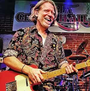 Chris Harris Playing Guitar