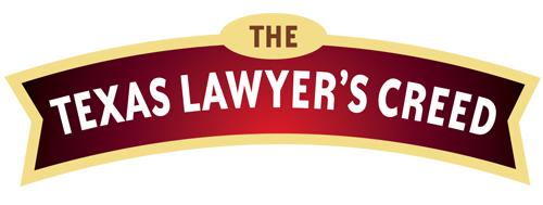 Texas Lawyer's Creed
