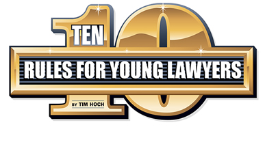 Hoch Ten Rules for Young Lawyers - image