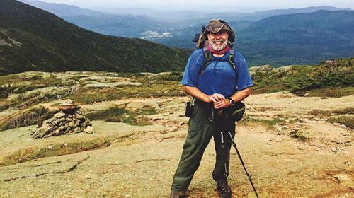 Mike Lynn on Mount Washington