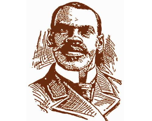 Drawing of John N. Johnson Headshot