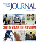January 2011 TBJ Cover