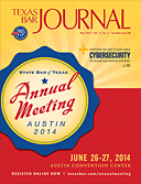 May 2014 TBJ - cover