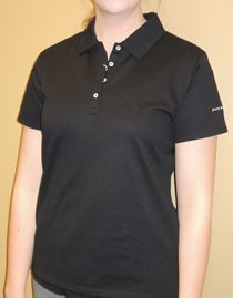 Women's Polo Front Angle