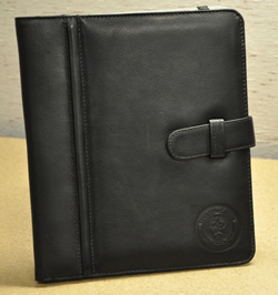 iPad Case Black Front Angle