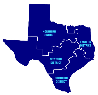 Map Of Northern Texas.State Bar Of Texas 2col